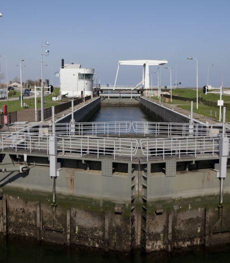 Beperkte schuttijden voor schepen in Grevelingensluis