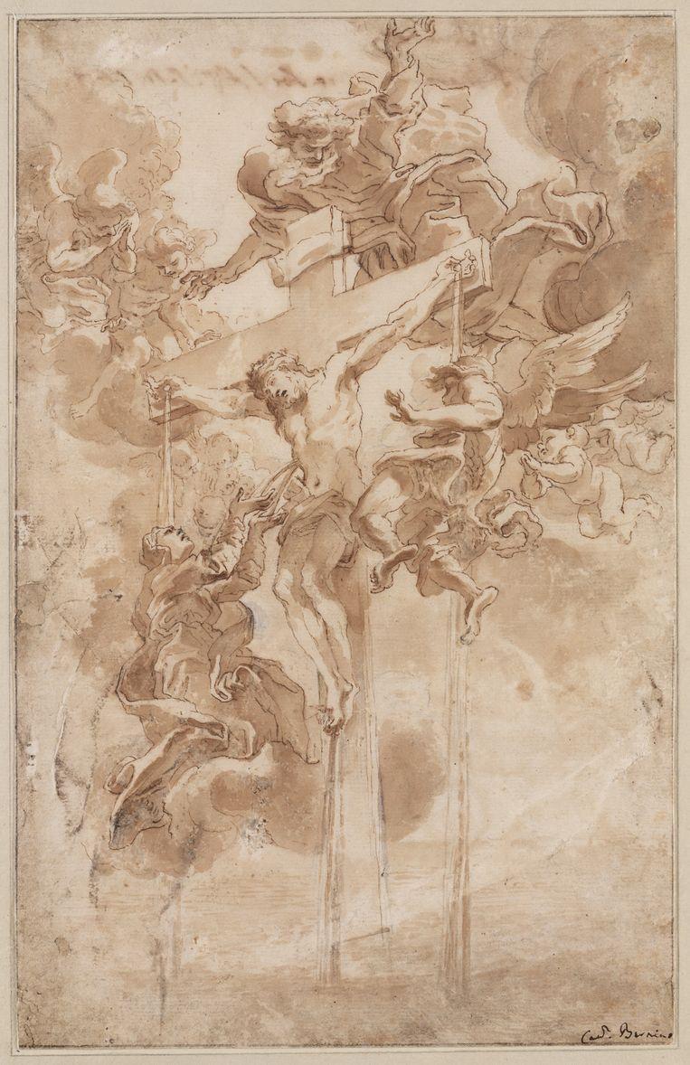 Allegorie op het Heilige Bloed van Christus. Beeld Collectie Teylers Museum