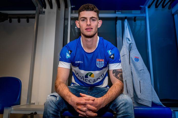 Thomas Buitink is de nieuwe spits van PEC Zwolle. De Nijkerker wordt de rest van het seizoen gehuurd van Vitesse.