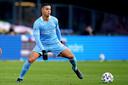 Mohamed Ihattaren in het duel met Feyenoord.