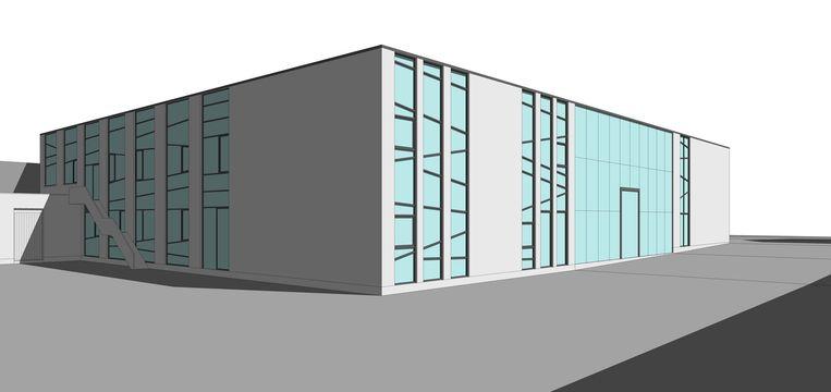 Zo zou de campus eruit gaan zien na de renovatie.