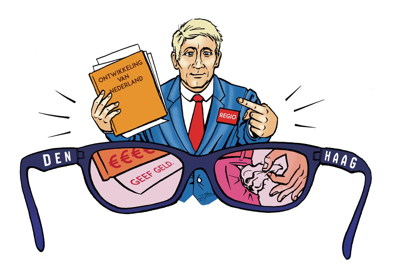 De Haagse bril kleurt nogal eens het beeld dat het Rijk heeft van regionale ambtenaren en bestuurders.