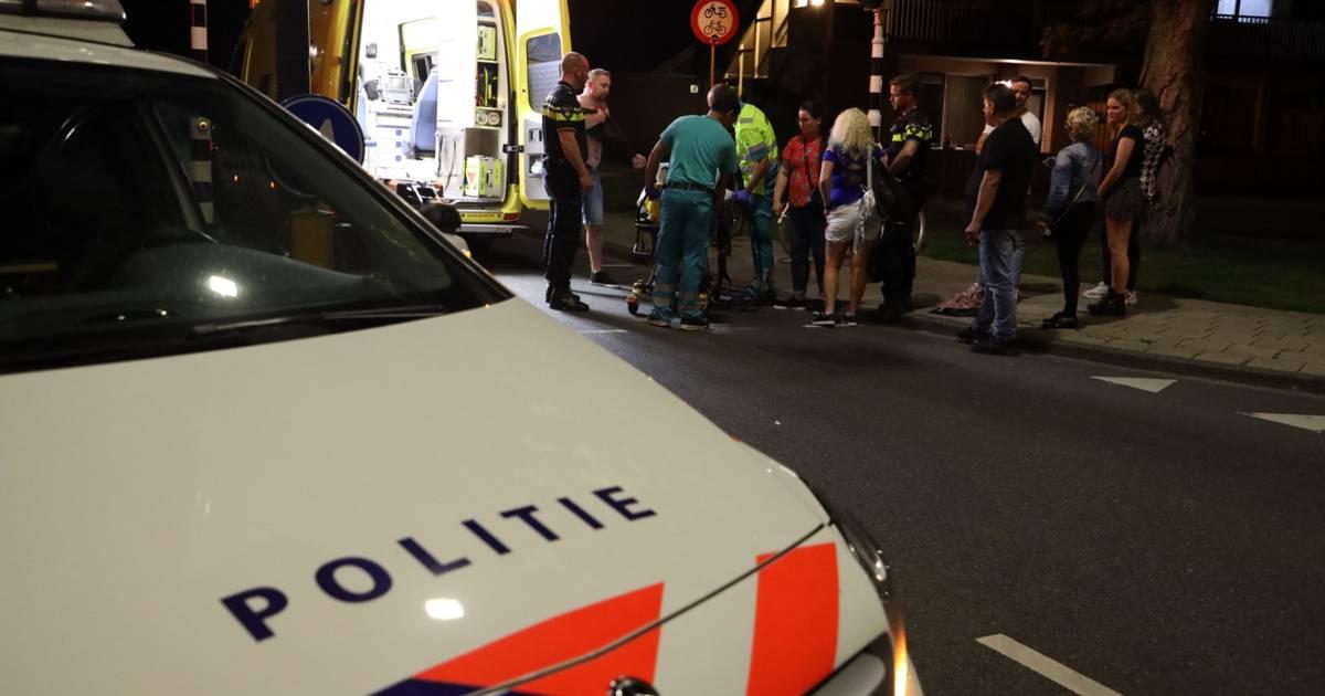 Voetganger aangereden in Waalwijk, bestuurder auto rijdt door.