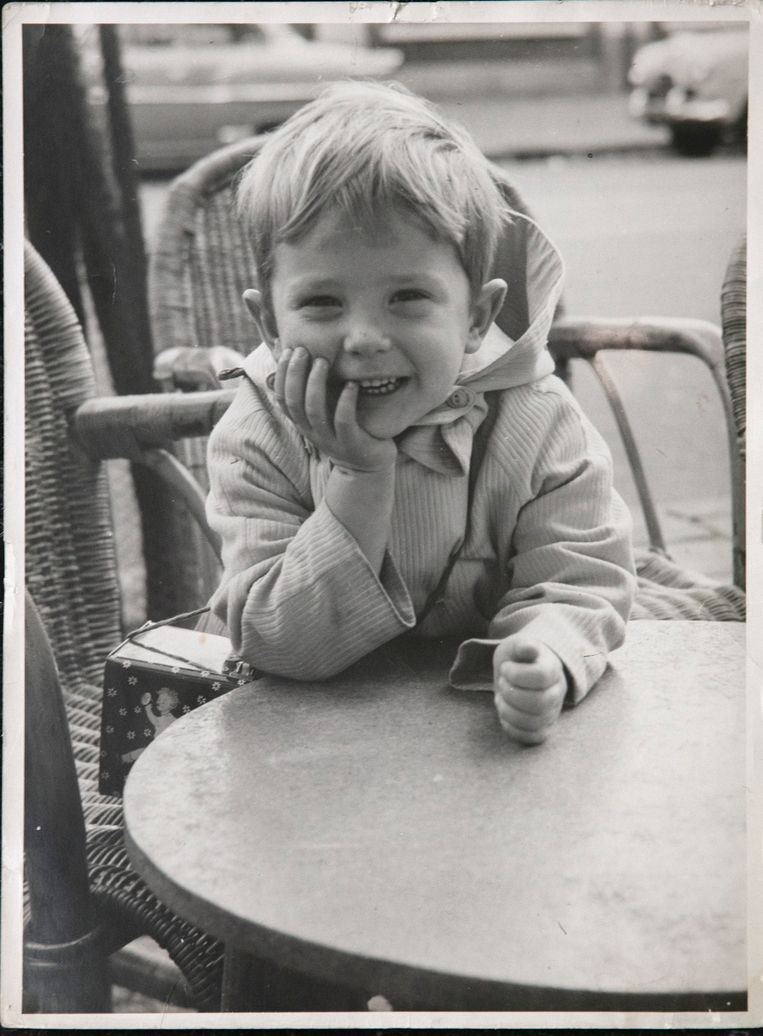 Jeugdfoto van Bob Haboldt. Beeld Eigen archief.
