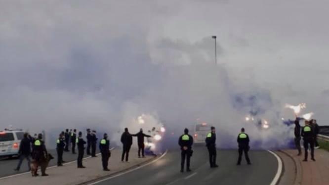 Naast supportersactie 's ochtends, verloopt Antwerpse derby (voorlopig) zonder incidenten