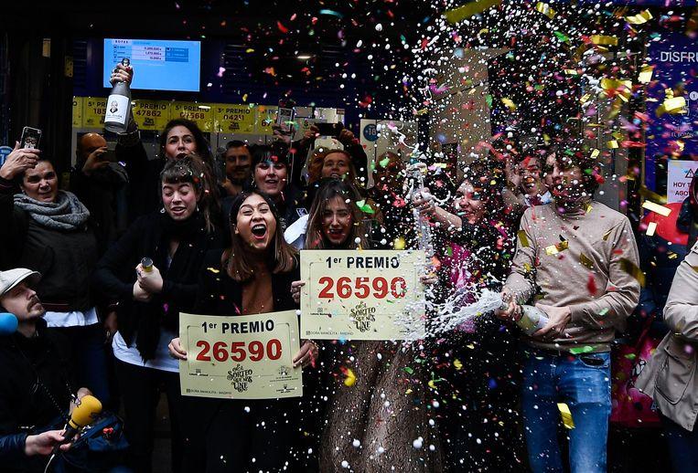 Het winnend lot van de kerstloterij 'El Gordo' was 26590.