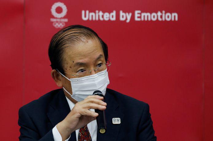 Toshiro Muto, le directeur du comité d'organisation des Jeux Olympiques de Tokyo.