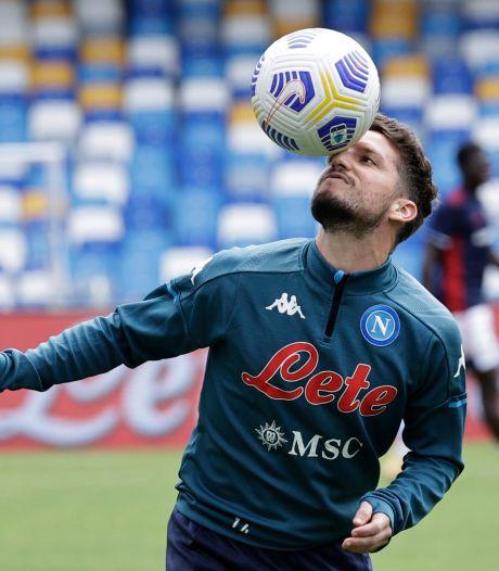 Sans-faute pour Naples qui domine Udinese, Dries Mertens a déjà rejoué