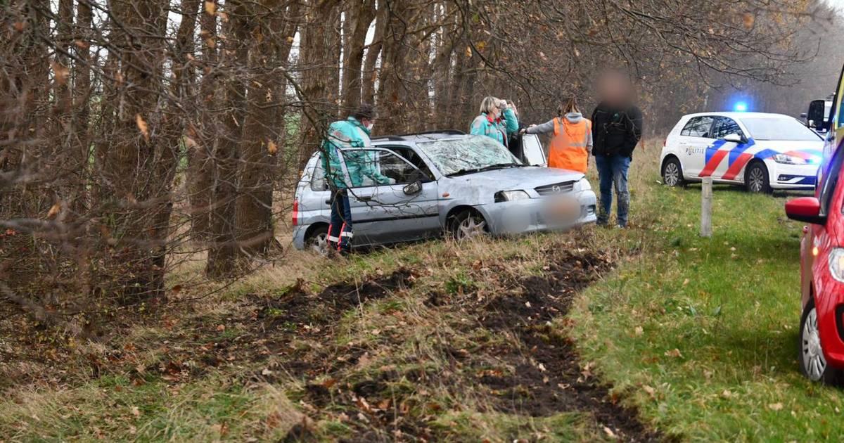 Gewonde bij ongeluk op N36 bij Sibculo: verkeershinder in beide richtingen.