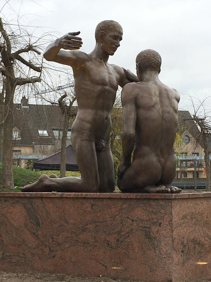 Het Lommelse kunstwerk van Margot Homan.
