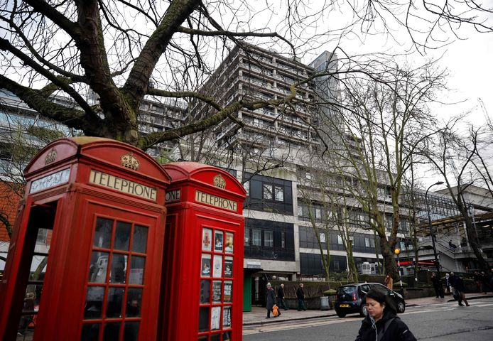 L'hôpital royal de Londres, le 10 février 2020.