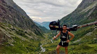 Brit beklimt Mont Blanc met roeitoestel op de rug, burgemeester woedend