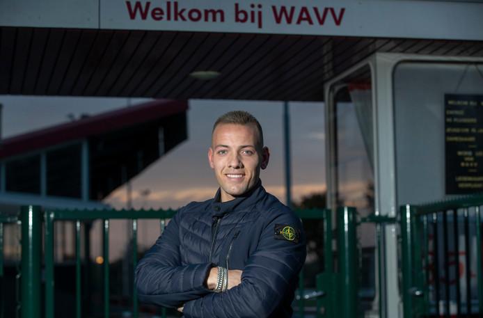 Kevin van Woerkom scoorde al zeven keer in de eerste klasse voor WAVV.