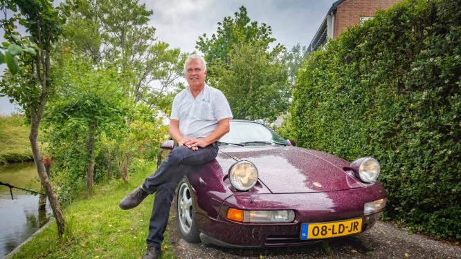 Zijn baas schonk hem zijn eerste Porsche, want geld had hij er niet voor. Nu rijdt hij een mooi 928 GTS