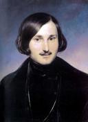 Portret van de schrijver Nikolai Vasilievich Gogol geschilderd door Fyodor Antonovich Moller.