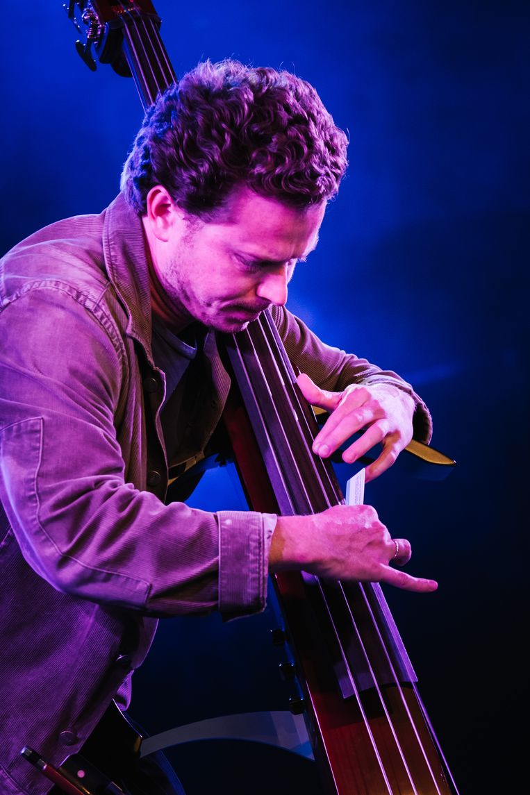 Portico Quartet op Jazz Middelheim Beeld Wouter Van Vooren