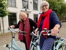 Anneke en Hanneh zijn vriendinnen door weer en wind; geen treinreis Peking maar fietsen in Heukelum