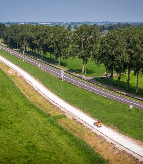 Nieuw fietspad tussen Zwartsluis en Hasselt een stuk veiliger