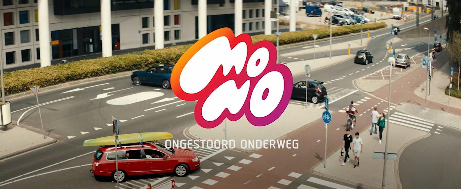 De MONO-campagne: 'Ongestoord onderweg'.