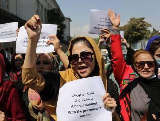 Vrouwenprotest in Kaboel afgebroken door taliban