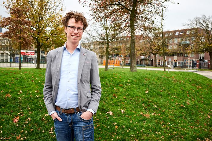 Fractieleider Martijn Balster van PvdA Den Haag