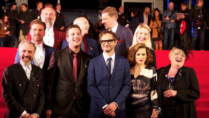 De cast van D'Ardennen bij de opening van het 42ste Film Fest Gent