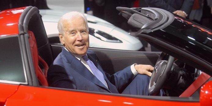 Joe Biden is al sinds zijn jeugd een echte autoliefhebber.