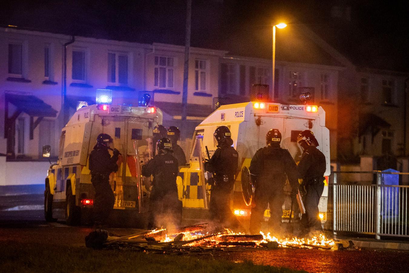 Londonderry in Noord-Ierland kende de afgelopen week het nodige geweld.
