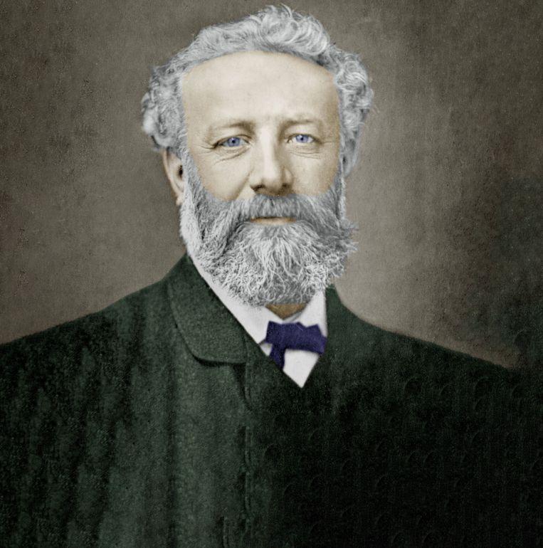 De Franse schrijver Jules Verne. Beeld Getty Images