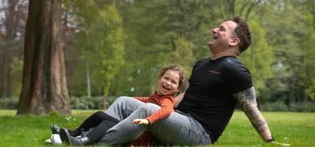 Rob loopt in Etten-Leur de marathon voor dochter Mila met epilepsie