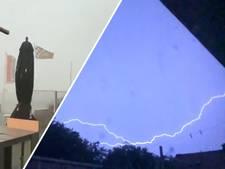 Wateroverlast door stortbuien in Friesland, code geel in hele land vanwege kans op onweer