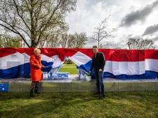 Enorme letters #Opgezwolle vanaf vandaag te zien in Park de Wezenlanden in Zwolle