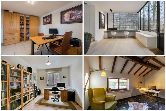 Heel wat kandidaat-kopers hebben sinds corona een thuiswerkruimte hoog bovenaan het verlanglijstje staan.