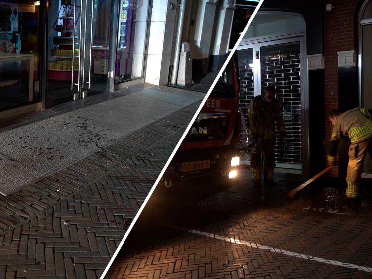 Man neergestoken in Deventer, bloedspoor door het centrum