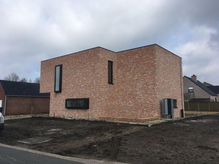 Na een bouwtermijn van amper 13 maanden trekken Kristof en Evelien volgende week in hun nieuwe woning.