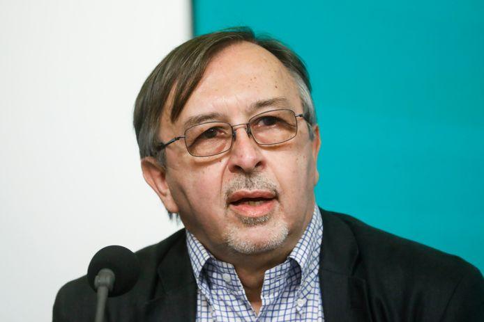 Yves Van Laethem, porte-parole interfédéral Covid-19.