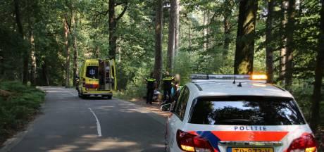 Motorrijder gewond door slippartij op Posbank