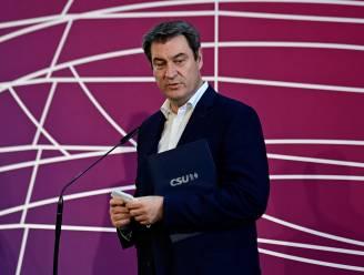 Beierse premier Söder geeft poging om Duits bondskanselier te worden op