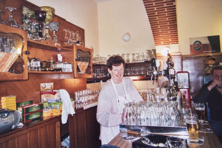 De oude uitbaatster Janine Van Overloop.