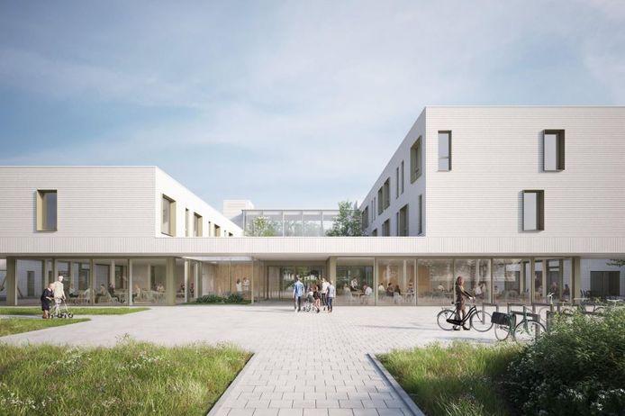 Een blik op het nieuwe woonzorgcentrum Sint-Jozef