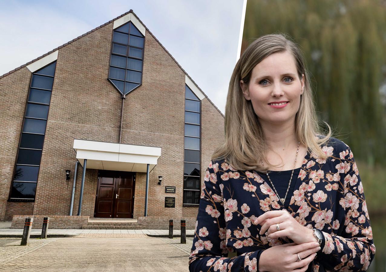 Theoloog des Vaderlands Almatine Leene geeft haar visie op de situatie bij de Sionkerk op Urk.