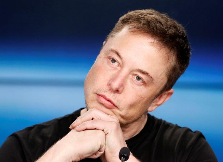 Elon Musk omschreef de hachelijke situatie bij Tesla als een 'production hell'. Beeld REUTERS