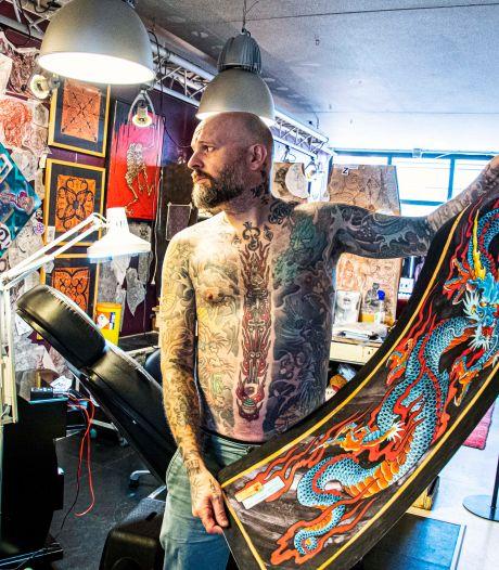 Darko Groenhagen weet alles van de Japanse tatoeage, 'Het is niet impulsief een plaatje zetten'