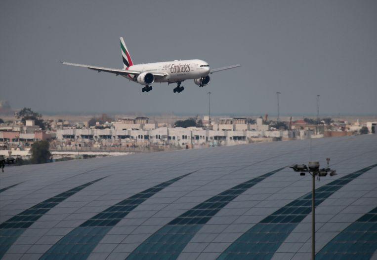 De luchthaven van Dubai geldt als een van de drukste ter wereld voor internationale reizigers.