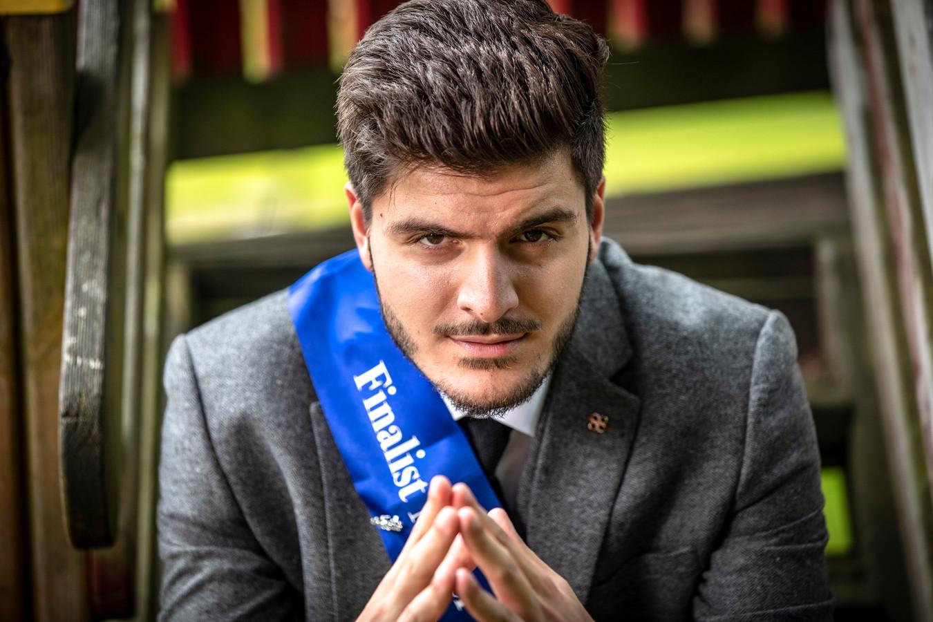 Wordt Ogulcan Tezcan uit Oldenzaal de nieuwe Mister International Netherlands? Op 11 september krijgt hij het antwoord op die vraag.