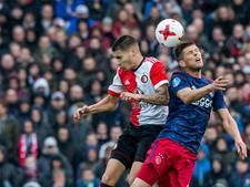 LIVE: Feyenoord en Ajax gaan in rommelige Klassieker rusten zonder doelpunten