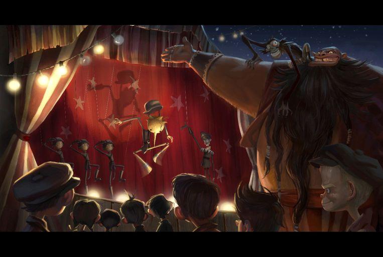 Oscarwinnaar Guillermo Del Toro gaat deze 'Pinocchio'-stopmotionfilm maken voor Netflix. Beeld rv