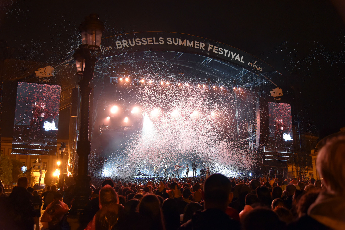 Christine and the Queens au Brussels Summer Festival en 2019.