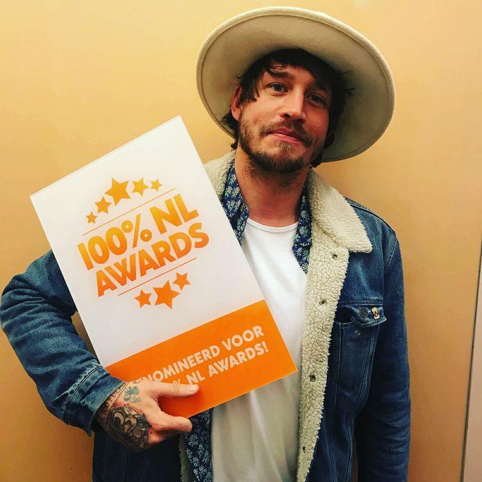 Rob Dekay is genomineerd voor de titel 'Talent van het Jaar' van radiozender 100% NL.