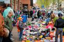 Emmy van Roessel-Lieshout verlangt naar de vrijmarkt met Koningsdag.